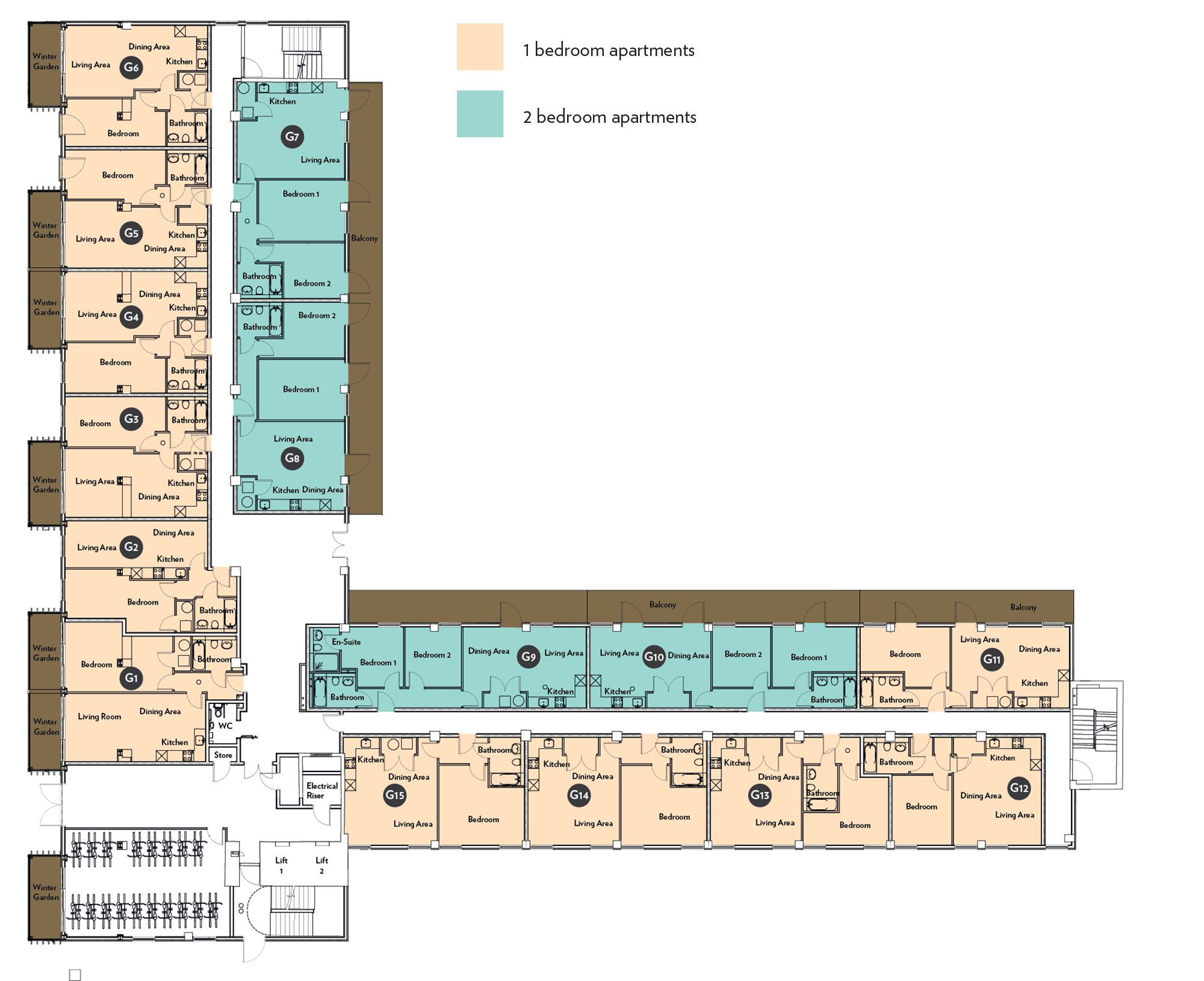 Grandview - Ground Floor Plan