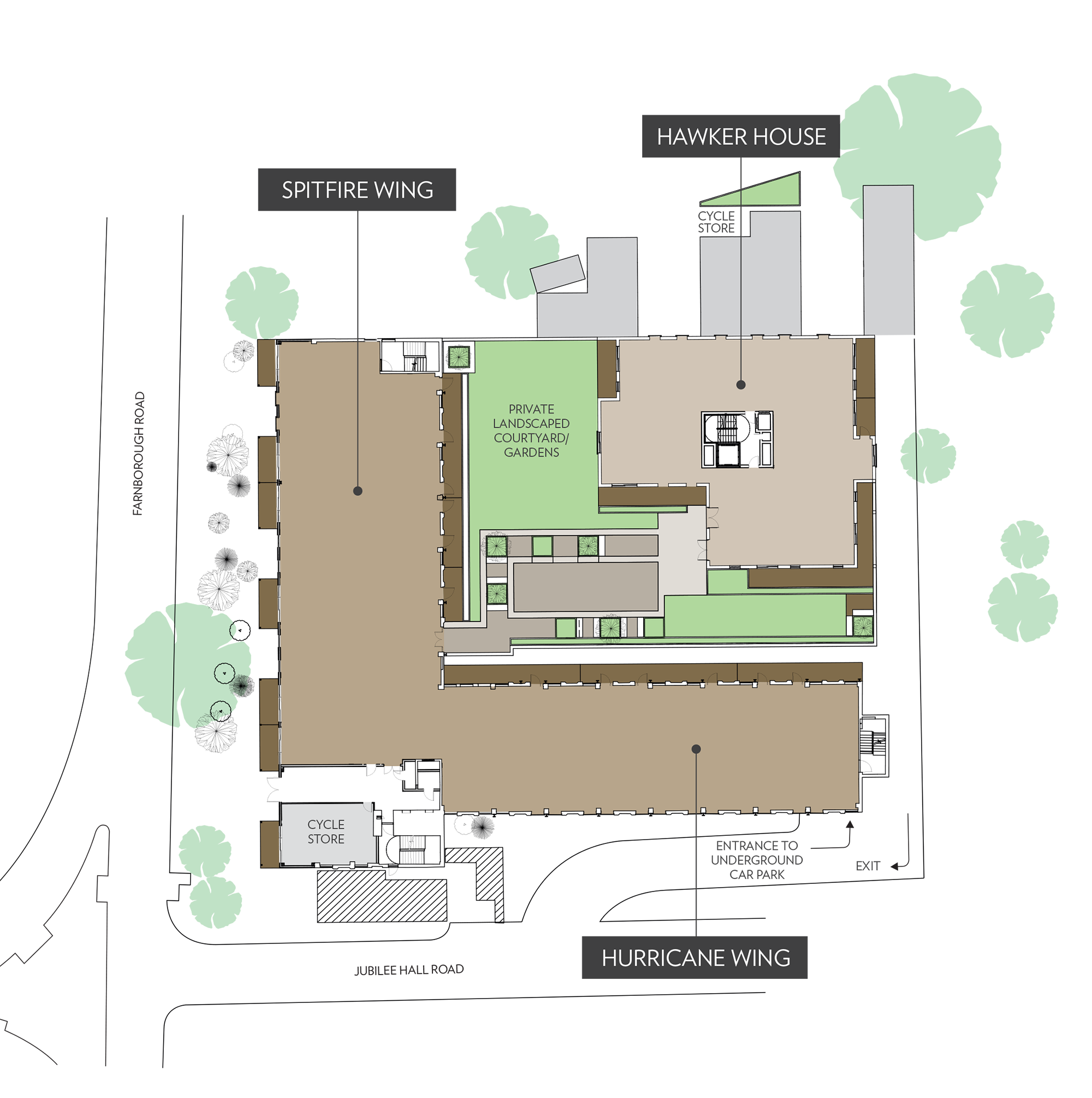 Grandview Site Plan